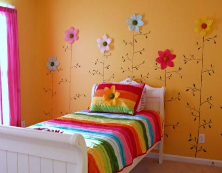 jardim de flores: Girl Room, Kidsroom, Girls Bedroom, Girls Room, Bedrooms, Flower, Kids Rooms, Bedroom Ideas