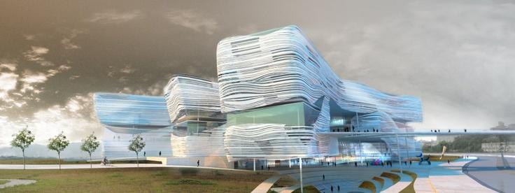 New Taipei City Museum of Art Proposal / Behnisch Architekten