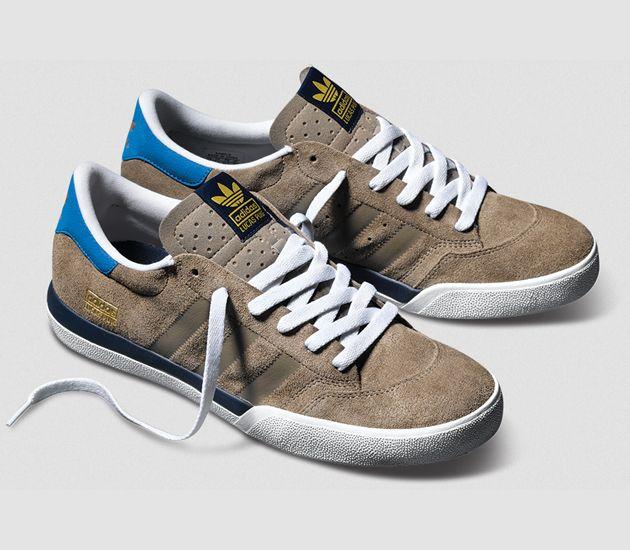 adidas Skateboarding Lucas - Titan Grey / Bluebird