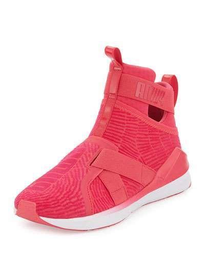 66ff39354b6 Puma Fierce High-Top Strap Flocking Sneaker