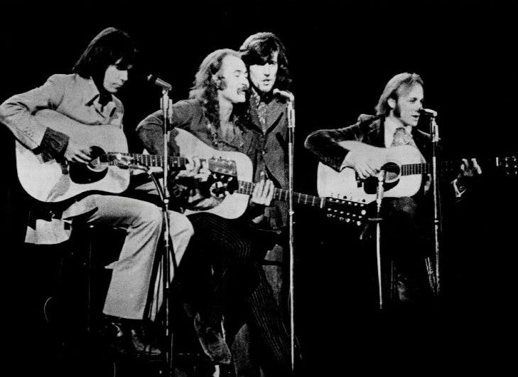 Crosby, Stills, Nash, & Young - True SUPERGROUP opening with an acoustic set. (MC Baltimore Civic Center 5/30/70)
