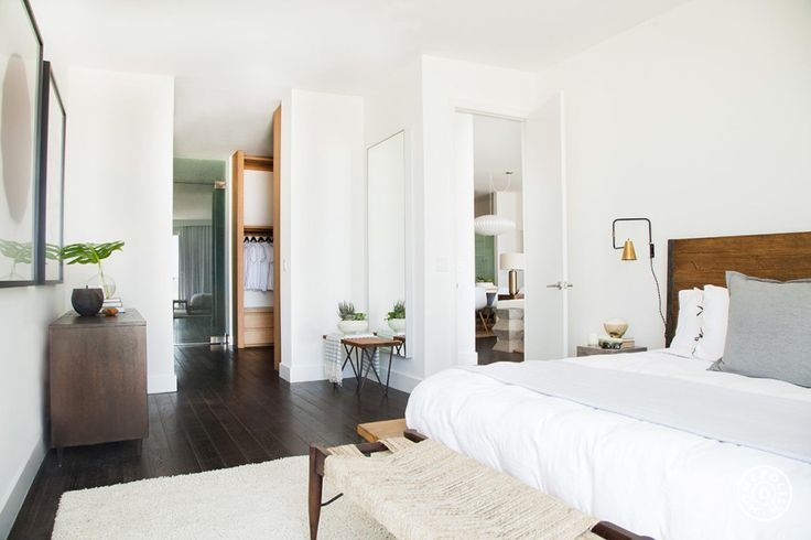 The Beach House, Part I by @homepolish Los Angeles  bedroom style