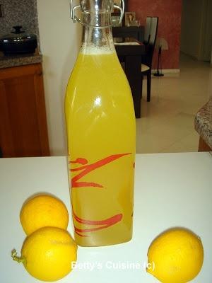 Bettys Cuisine: Λεμονάδα σπιτική συμπυκνωμένη