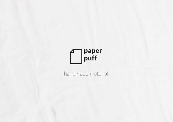 Paper puff material - stool on Behance