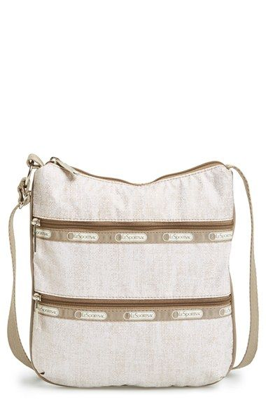 Women's LeSportsac 'Kylie' Crossbody Bag - Metallic