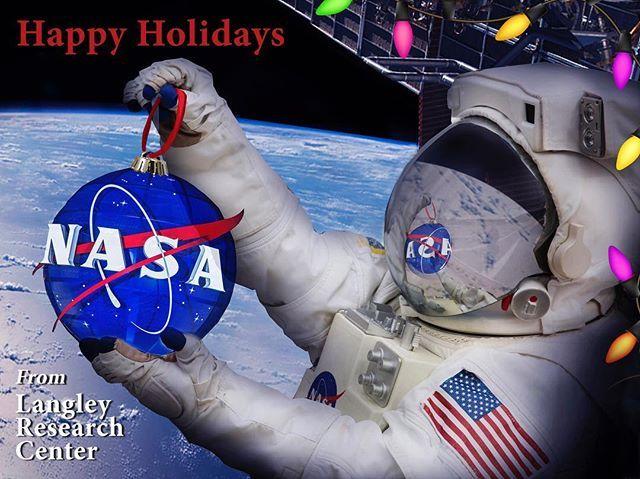 nasa_langley 'Tis the season. Happy Holidays from NASA Langley Research Center!  #happyholidays #nasa #seasonsgreetings NASA Langley Research Center 2017/12/21 01:37:57
