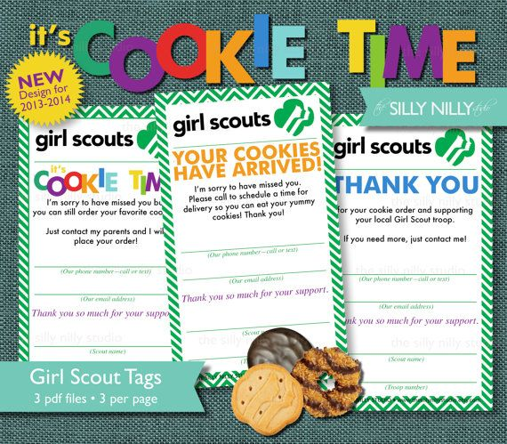 36 Best Images About Girl Scouts Cookies On Pinterest