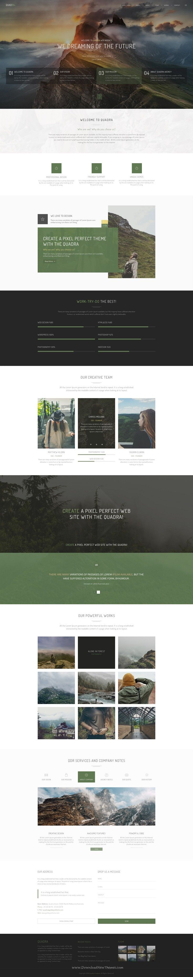 98 best Site designs images on Pinterest Web layout Web design