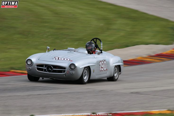 Doug Radix's 1955 #MercedesBenz #190SL at the Spring SVRA race at Road America