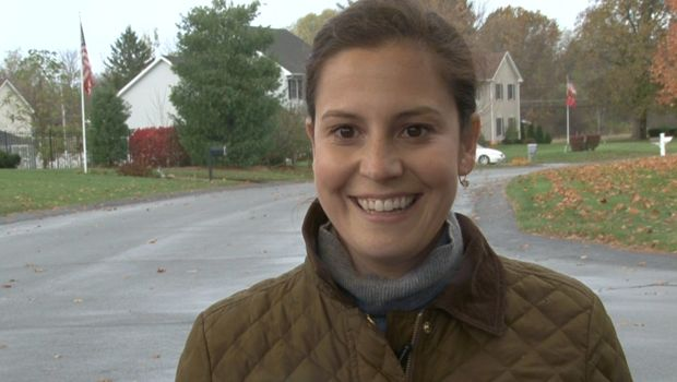 "Stefanik, the youngest woman ever elected to Congress, says Sheryl Sandberg's ""Lean In"" influenced her decision to run, in interview with ""CBS This Morning"" Anchor Norah O'Donnell"