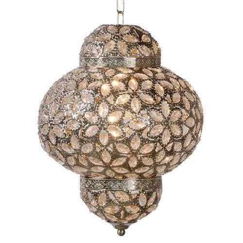 Lucide Djerba Lantaarn Hanglamp