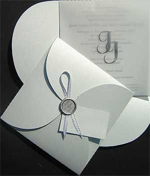 Ref Clover JJ ( we can do any colour) www.weddingcards.co.za