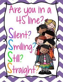 4S Line Sign  Silent Smiling Still Straight