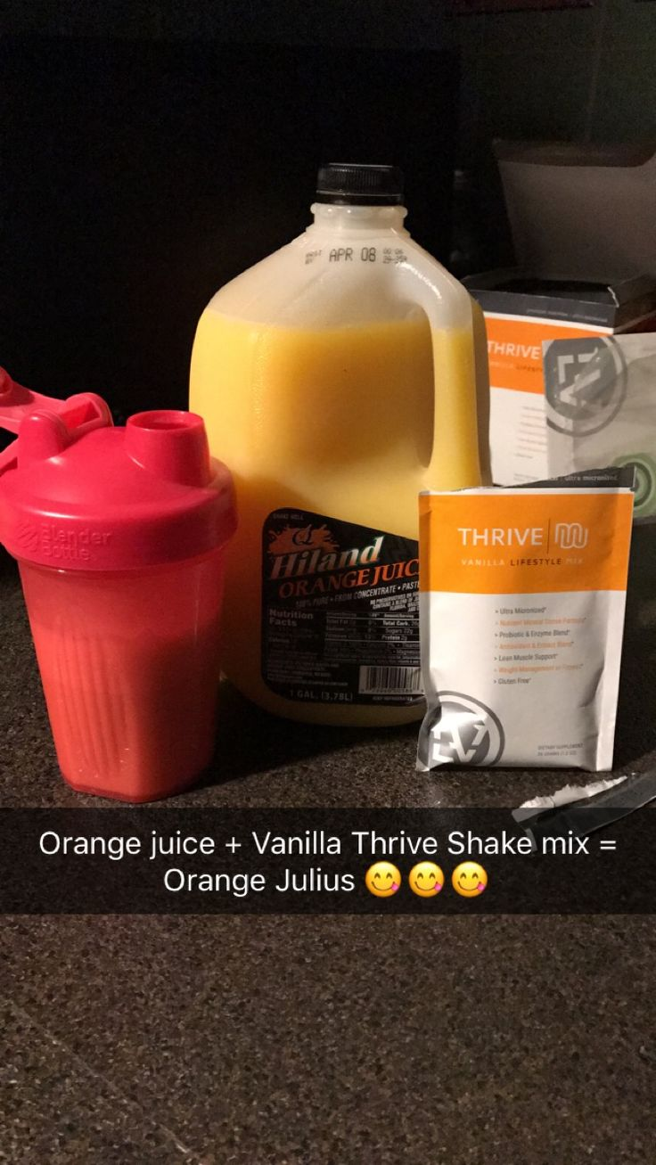 https://tristalauer.le-vel.com/  For more delicious Thrive shake recipes, sign up as a customer! It's FREE! I would love to share my secrets!!!