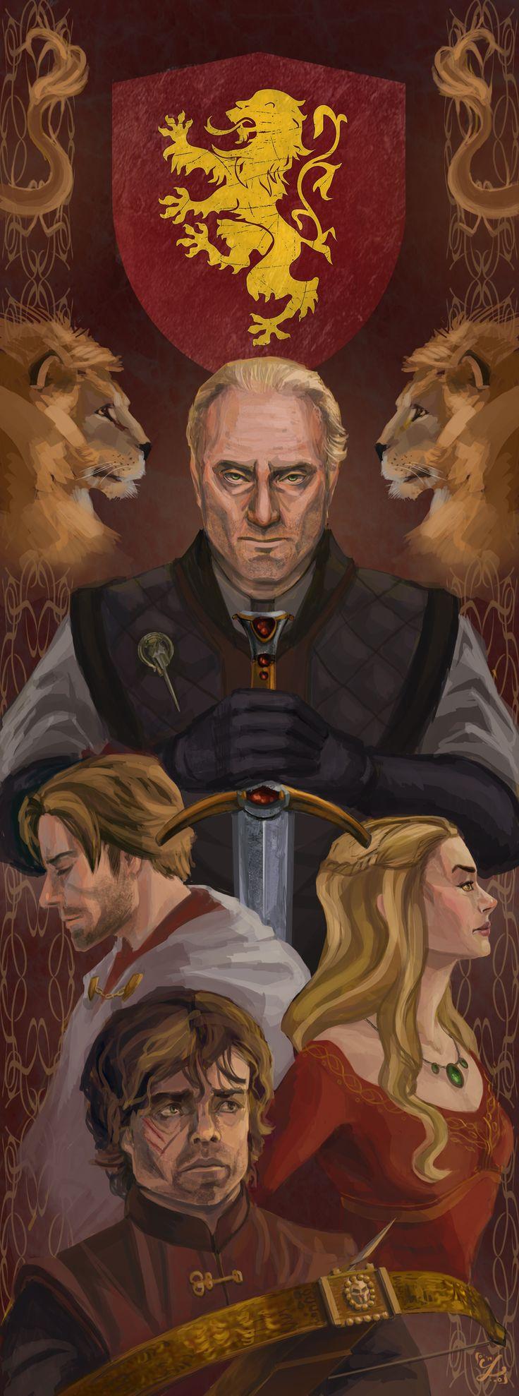 House Lannister by Alsheim.deviantart.com on @deviantART