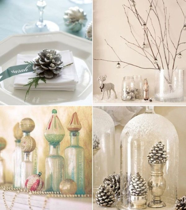 32 Original Winter Table Décor Ideas | DigsDigs: Table seating cards and decorations