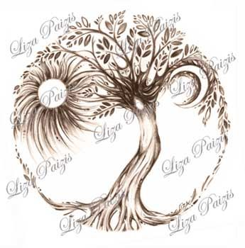 Tree of Life tattoo design and other unique tattoo designs, and ...