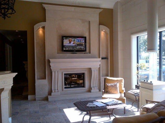 Beautiful Fireplace 72 best cast stone fireplace mantels images on pinterest | stone