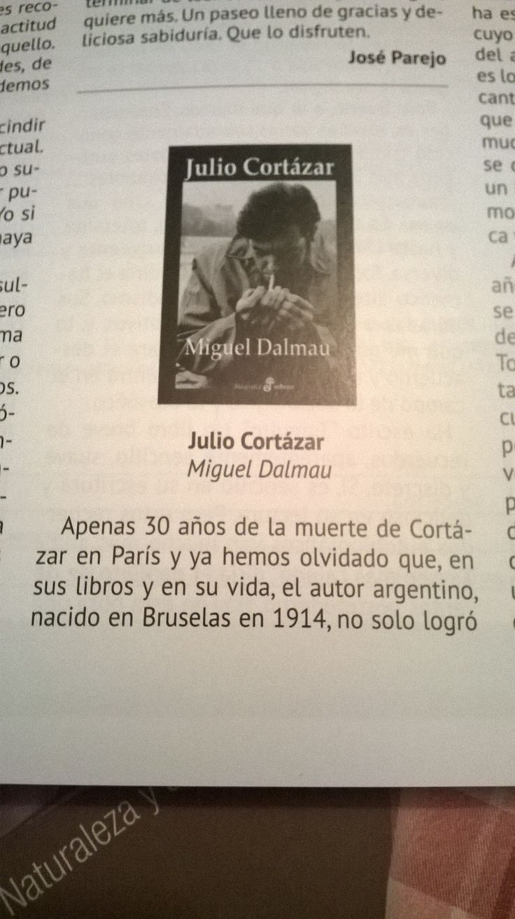 #recomiendo #ensayo #novela #biografía #JulioCortázar #MiguelDalmau @edhasaeditorial @revista_abaco https://romerobarea.wordpress.com/2016/03/08/julio-cortazar-de-miguel-dalmau-en-revista-abaco/ …
