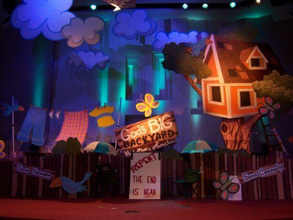 kids set design - Google Search | Stage sets | Kids stage ...