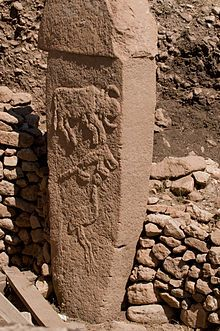 Göbekli Tepe, Southeastern Anatolia Region of Turkey is a Neolithic hilltop sanctuary. It is the oldest known human-made religious structure. The site was most likely erected by hunter-gatherers in the 10th millennium BCE and has been under excavation since 1994 by German and Turkish archaeologists, Together with Nevalı Çori, it has revolutionized understanding of the Eurasian Neolithic period.