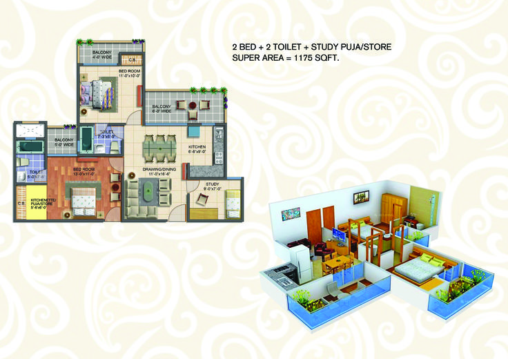 Blessings Book Fully furnished 2BHK @ shagun of 51000 and pay rest on possession , Geotech Blessings is one of the most popular residential developments in the neighborhood of Greater Noida. It offers well designed 2BHK and 3BHK apartments. The project is designed with all modern amenities and basic facilities to cater the needs of the residents. 24X7 security service is also available. For further information please at:-  http://geotechblessingsnoida.in/    {OR} Call now at:-  09212301155