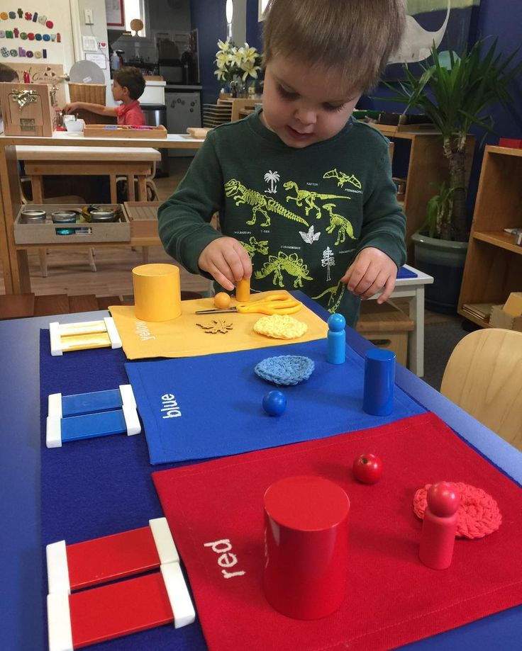 """387 mentions J'aime, 22 commentaires - Westside Montessori School  (@westside_montessori) sur Instagram: """"Making colour connections with our environment ... #wmssensorial #vancouverpreschool…"""""""