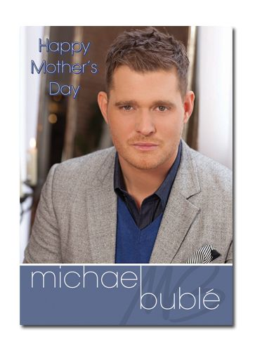 Official Michael Buble Mother's Day Sound Card now available with Free 1st Class UK Postage from Publishers Danilo.com at http://bit.ly/MotherDayCardsWrap