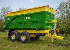 Traktorové návěsy BIG 18.14