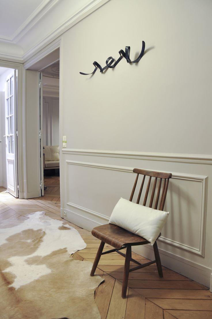 coat hook work of art stephanie rossu0027s entry in parisian apartment i remodelista