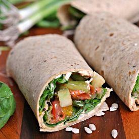 Crunchy Veggie Wraps {vegan, dairy-free}   Soups, Sandwiches ...