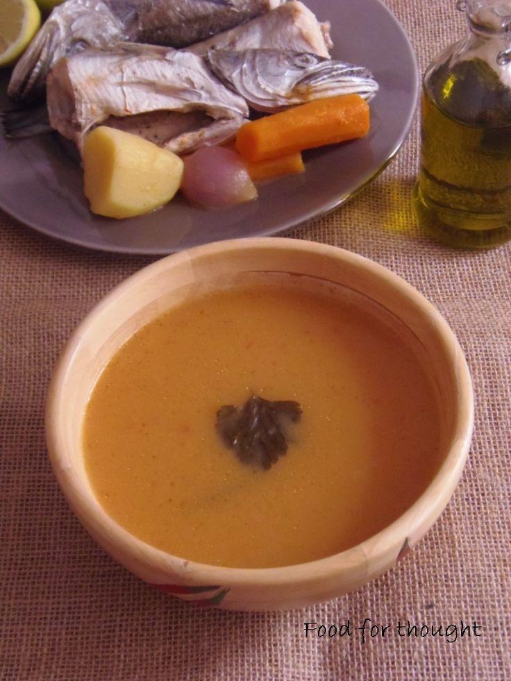 Ψαρόσουπα βελουτέ http://laxtaristessyntages.blogspot.gr/2012/10/blog-post_10.html
