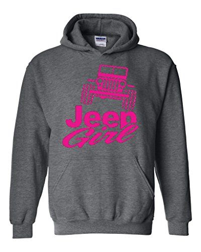 Artix Jeep Girl Unisex Hoodie Sweatshirt XX-Large Dark He...