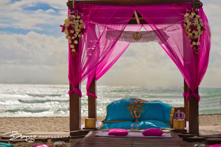"""I think I just died and went to heaven"" #Desi Wedding on the Beach"