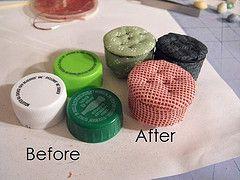 making bottles for miniatures | Miniature Tutorials - a set on Flickr                                                                                                                                                                                 Mais