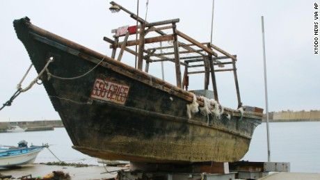 Ghostly ships full of bodies wash up in Japan - CNN.com