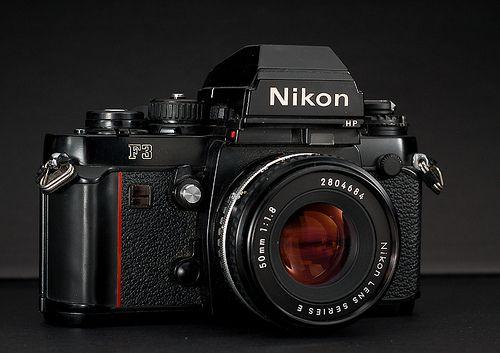 Nikon F3 (by Giugiaro)