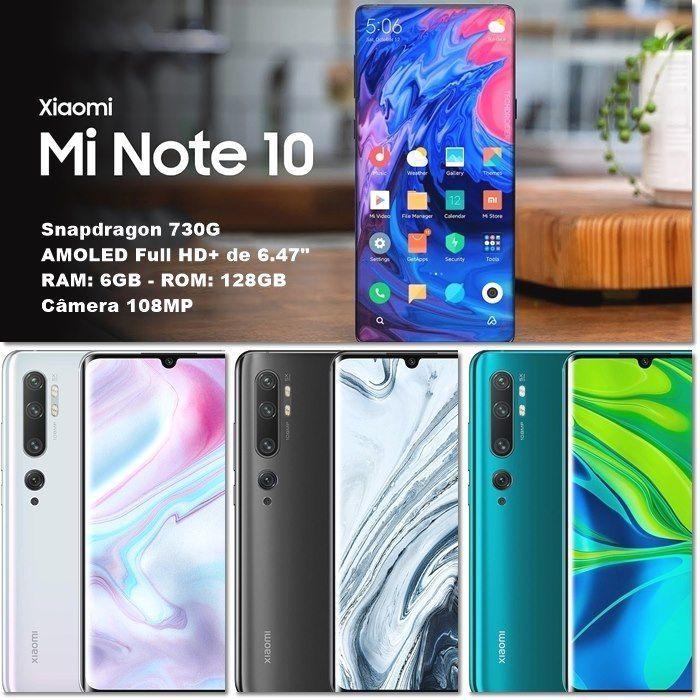 Smartphone Xiaomi Mi Note 10 128gb 6gb Ram A Partir De R 2 647 25 Em Ate 10x Sem Juros Preto Amzn To 2ucyb06 Ver Em 2020 Smartphone Ram Cupons De Desconto