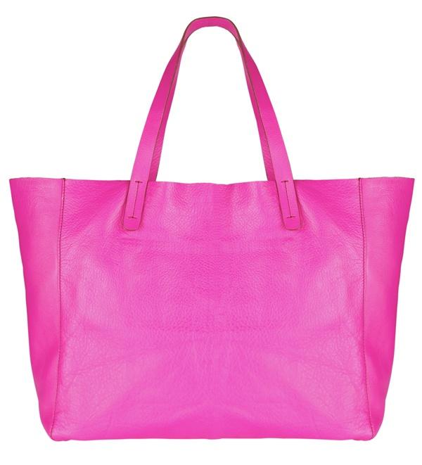 Pink tote bag #GapLove