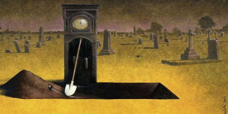 Savaş ve sistem karşıtı eleştirel çizimleriyle Pawel Kuczynski-  #grafik