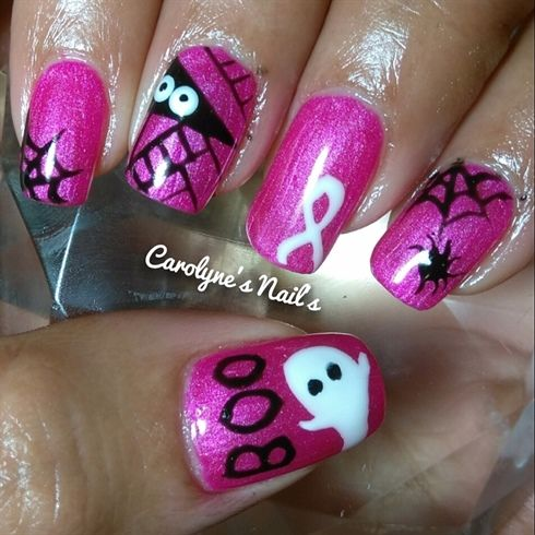 732 best halloween nail art images on pinterest halloween by carolyne from nail art gallery prinsesfo Images
