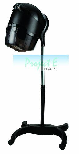 Project E Beauty Pro Rolling Floor Spa Hair Blow Dryer Hot Tools Dryer Salon Equipment Salon Home Use Machine #health  This CE Certified freestanding salon dryer is EXTREMELY LOW NOISE, height adjustable and it comes with a stand and wheels for stability, which can be moved around the salon to different stylists station for their clients comfort.   • Affordable – This portable hair dryer is lightweight and economical, yet it's loaded with professional functions and features. Dries ha..