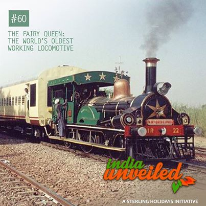 The Fairy Queen, which runs as a luxury train between Delhi and Alwar, Rajasthan, is the oldest functioning steam engine in the world according to the Guinness Book of World Records. Built in 1855 in England, this classic locomotive is powered by coal and has a top speed of 40 kilometers per hour.  To download and read more India Unveiled stories visit: www.indiaunveiled.org
