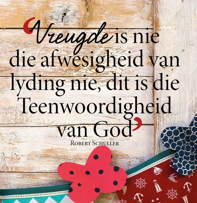 Vreugde... #Afrikaans #Happiness #InANutshell