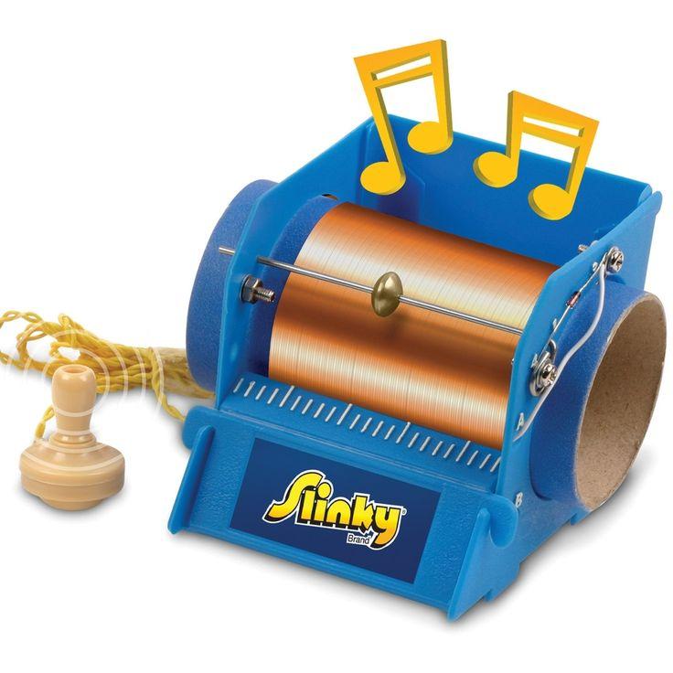 Slinky Crystal Radio Kit-, Brown sand