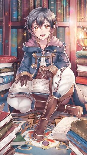 Fire Emblem: Awakening - Morgan #anime bookworm