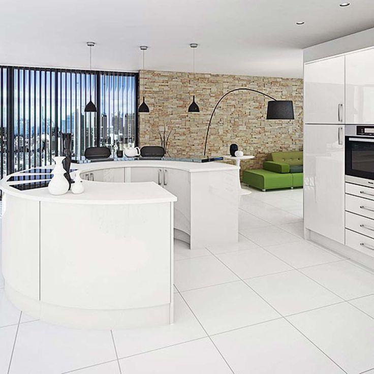 Burbidge White kitchen design ideas ~ http://www.lookmyhomes.com/white-kitchen-design-ideas-10-best-photos/