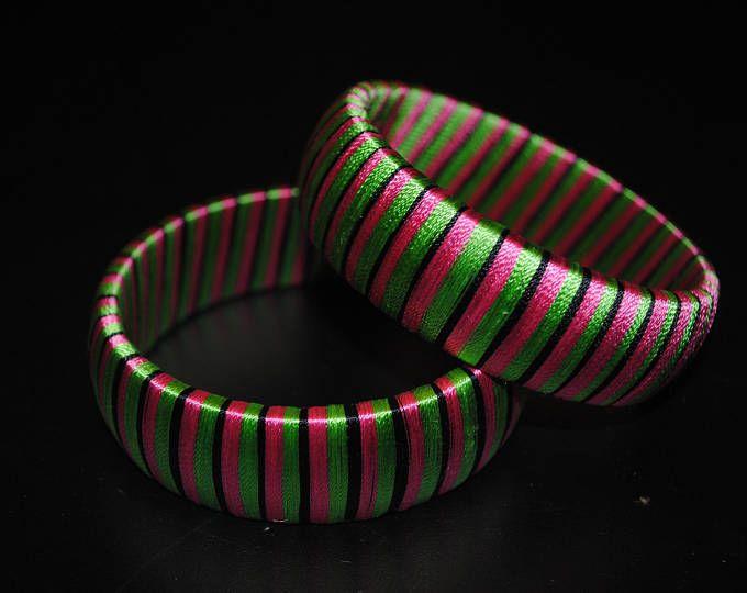 Handmade Silk Thread Bangles