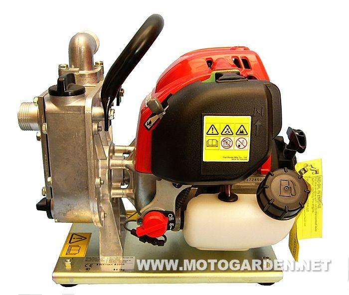 Motopompa honda wx10 con motore 4 tempi a benzina pompa for Pompa per irrigazione