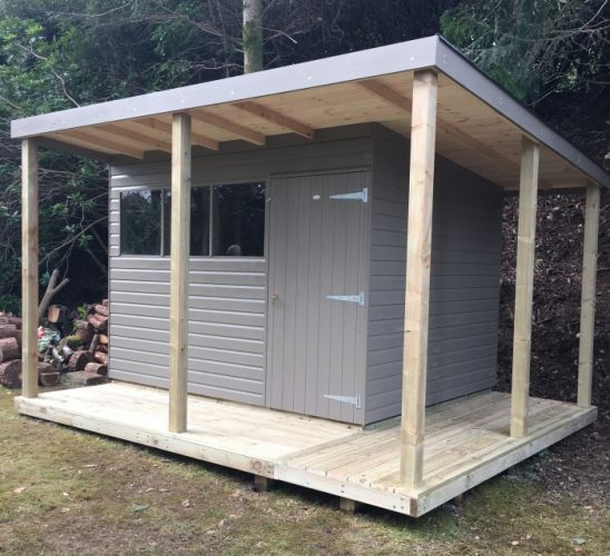 Workshops - Pent or Apex Roof Style from Sheds Direct Devon